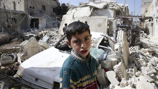 Situación en la ciudad siria de Damasco - Sputnik Mundo