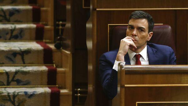 Pedro Sánchez, el líder del PSOE - Sputnik Mundo
