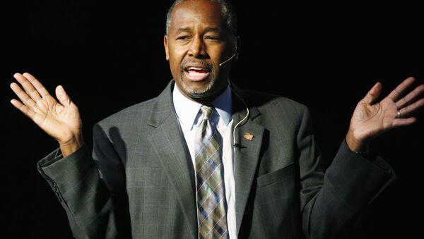 Ben Carson, precandidato republicano - Sputnik Mundo