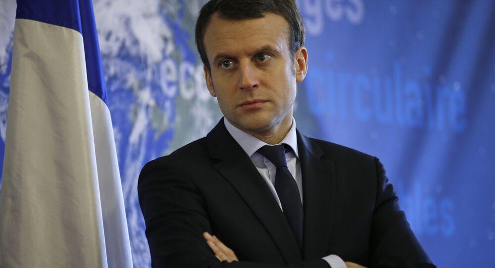 Emmanuel Macron, candidato a la presidencia francesa