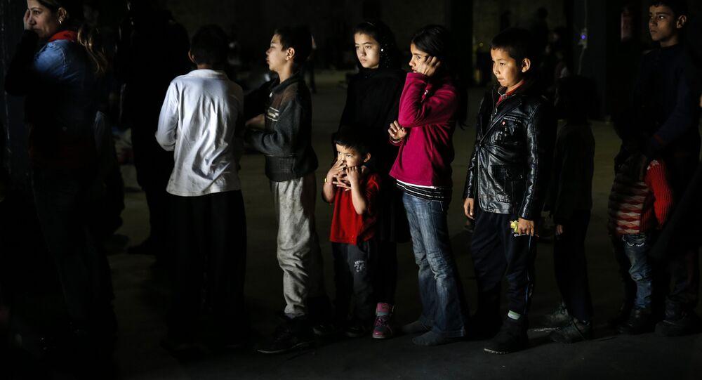 Migrantes sirios
