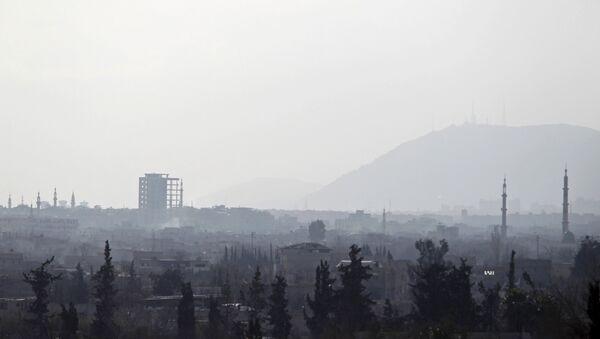 Una vista en la ciudad de Douma en los suburbios de Damasco - Sputnik Mundo