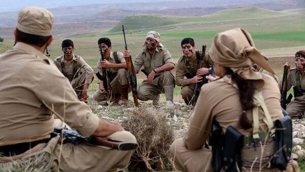 Los kurdos (archivo) - Sputnik Mundo