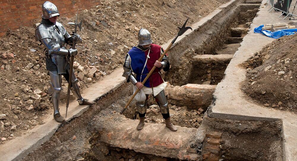 Excavaciones en Inglaterra (archivo)