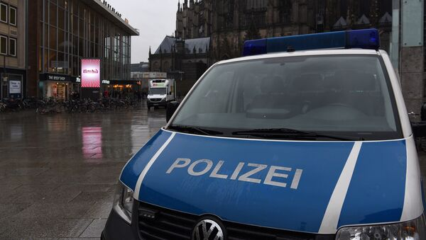 Policía de Colonia - Sputnik Mundo