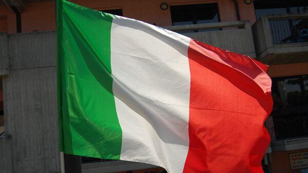 La bandera de Italia - Sputnik Mundo