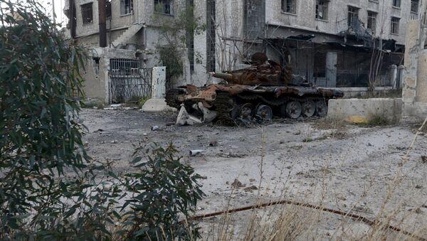 Centro Ruso para la Reconciliación registra cuatro violaciones de la tregua en Siria - Sputnik Mundo