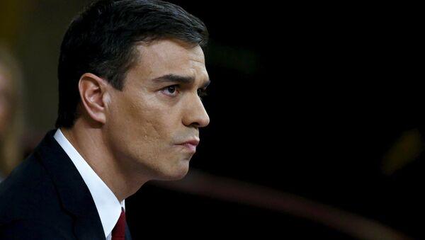 Pedro Sánchez, Jefe del Gobierno español - Sputnik Mundo