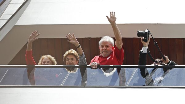 Presidenta de Brasil, Dilma Rousseff y Luiz Inácio Lula da Silva - Sputnik Mundo
