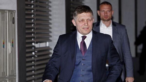Robert Fico, primer ministro de Eslovaquia - Sputnik Mundo