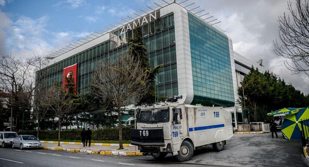 La sede del diario turco Zaman