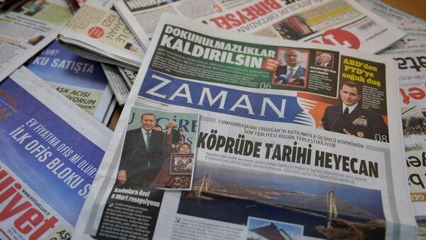 Diario turco Zaman - Sputnik Mundo