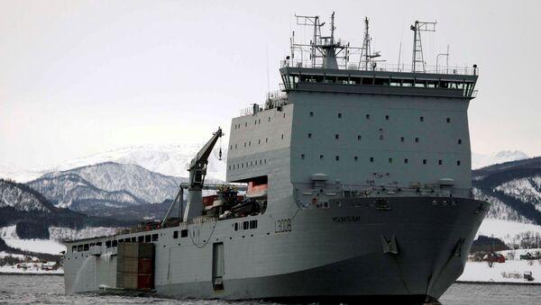 Mounts Bay, el navío de desembarque anfibio de la flota auxiliar - Sputnik Mundo