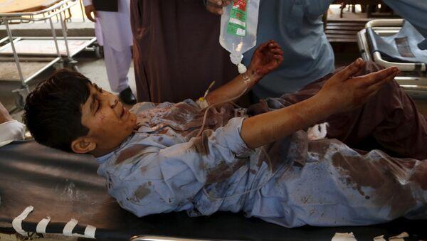 Un joven herido tras el atentado contra edificio de Tribunal en Pakistán - Sputnik Mundo