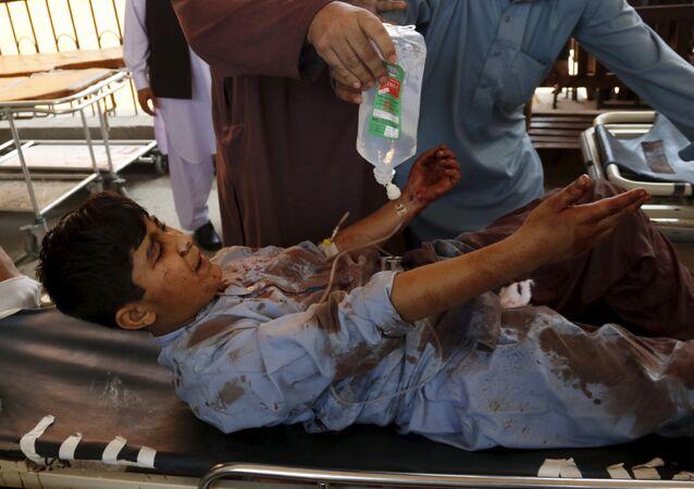 Un joven herido tras el atentado contra edificio de Tribunal en Pakistán