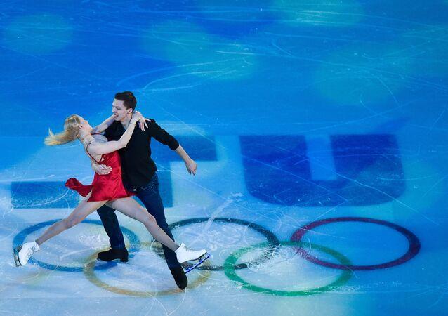 Ekaterina Bobrova y Dmitri Soloviev, campeones de los Juegos Olímpicos de 2014