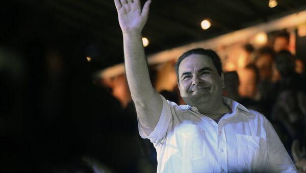 Expresidente de El Salvador, Elías Antonio Saca (archivo) - Sputnik Mundo