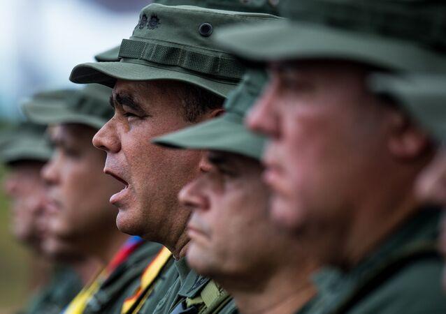 Ministro de Defensa de Venezuela, Vladimir Padrino