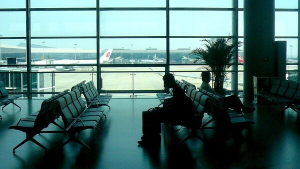 Un aeropuerto (imagen referencial) - Sputnik Mundo