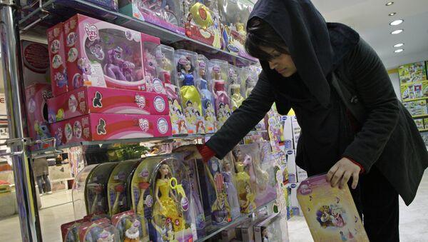 Una tienda de juguetes en Irán - Sputnik Mundo