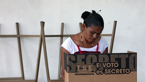 Costarricenses votan en elecciones - Sputnik Mundo