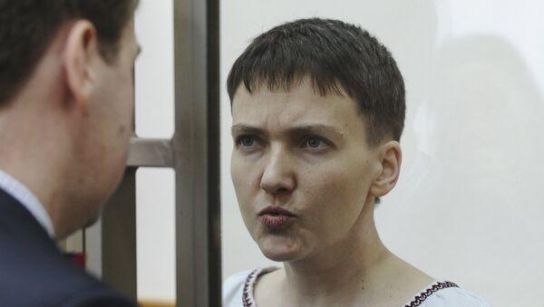 Nadezhda Sávchenko, la piloto ucraniana - Sputnik Mundo