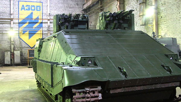 Tanque ucraniano Azovets - Sputnik Mundo