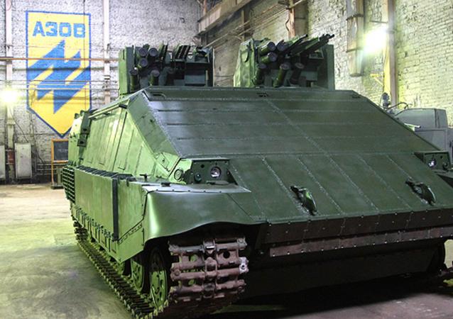 Tanque ucraniano Azovets