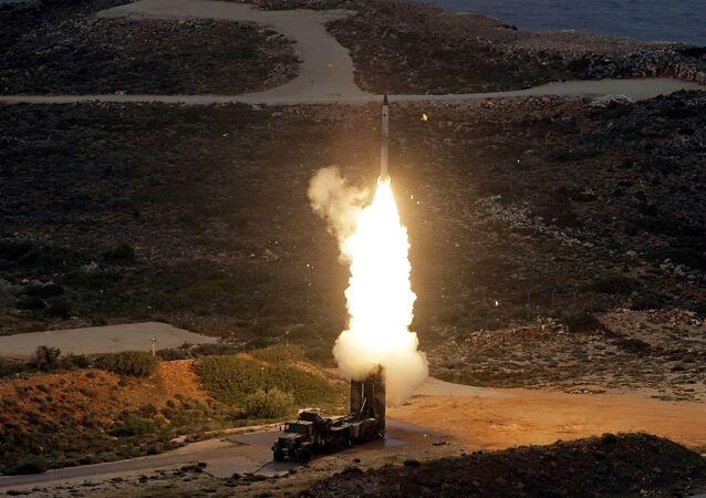 Sistema de misiles S-300 (archivo)