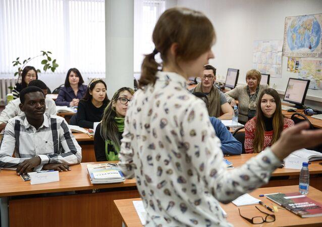 Estudiantes extranjeros en Rusia