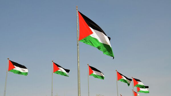 Banderas de Palestina - Sputnik Mundo