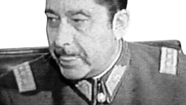 Arellano Stark, integrante del servicio de inteligencia de la dictadura de Augusto Pinochet - Sputnik Mundo