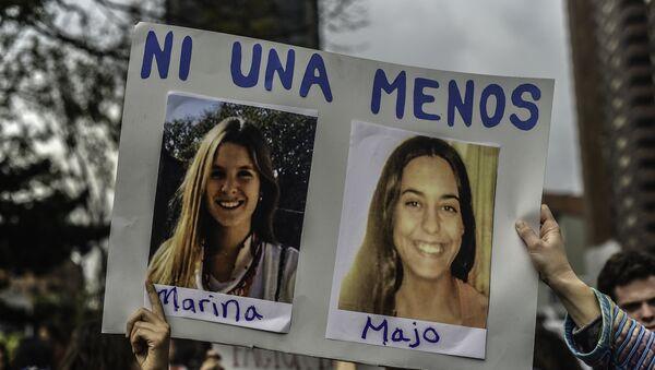 Fotos de dos turistas argentinas asesinadas en Ecuador - Sputnik Mundo