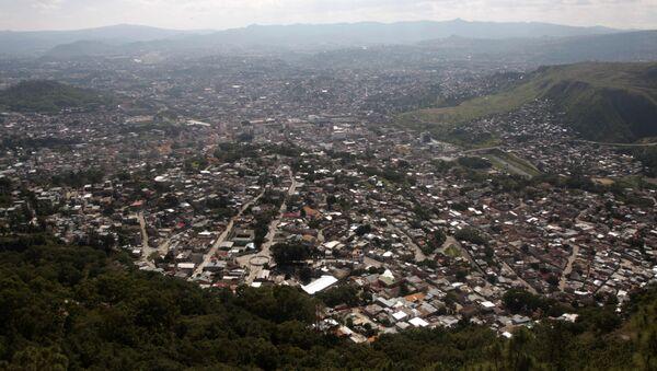 A general view of Tegucigalpa from the Picacho national park, Wednesday, Nov. 11, 2009. - Sputnik Mundo