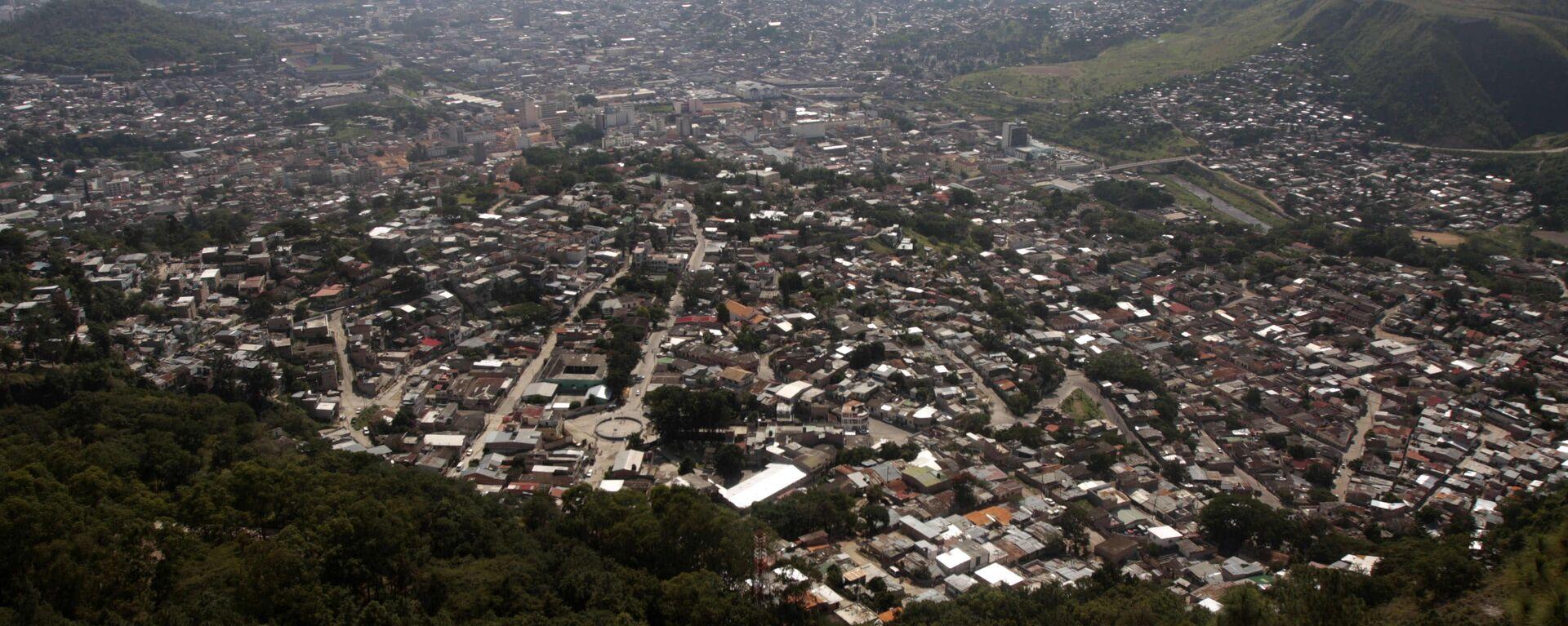 A general view of Tegucigalpa from the Picacho national park, Wednesday, Nov. 11, 2009. - Sputnik Mundo, 1920, 21.06.2021