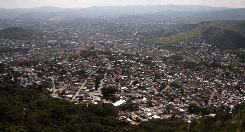 Tegucigalpa, capital de Honduras