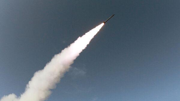 Lanzamiento de cohete en Corea del Norte (archivo) - Sputnik Mundo