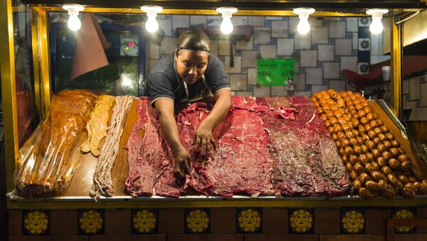 Una carnicería mexicana - Sputnik Mundo