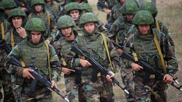El Ejército de Tayikistán - Sputnik Mundo