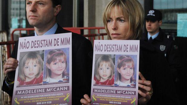 Gerry e Kate McCann, pais da menina Madeleine McCann, desaparecida em 2007 durante férias com a família em Portugal - Sputnik Mundo