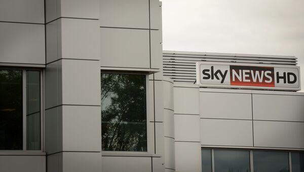 Sede de la cadena Sky News - Sputnik Mundo