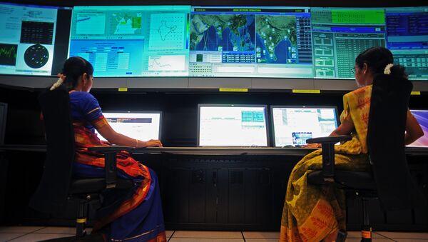 Científicos en la Agencia India de Investigación Espacial (ISRO) - Sputnik Mundo