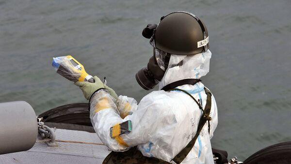 Elementos radiactivos en las aguas cercanas a Fukushima-1 - Sputnik Mundo