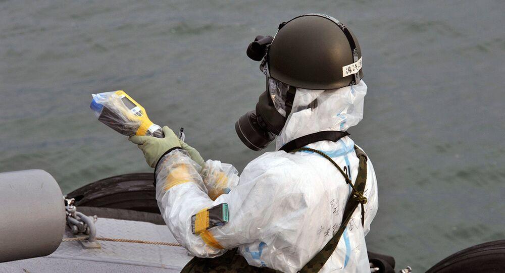 Elementos radiactivos en las aguas cercanas a Fukushima-1