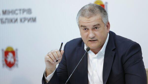 Serguéi Aksiónov, jefe de la República de Crimea - Sputnik Mundo