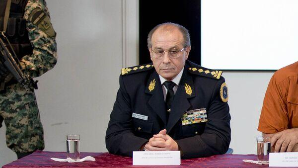 Jefe de la Policía Federal de Argentina, Román di Santo - Sputnik Mundo
