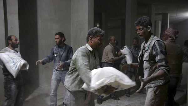 Ayuda humanitaria para Siria - Sputnik Mundo