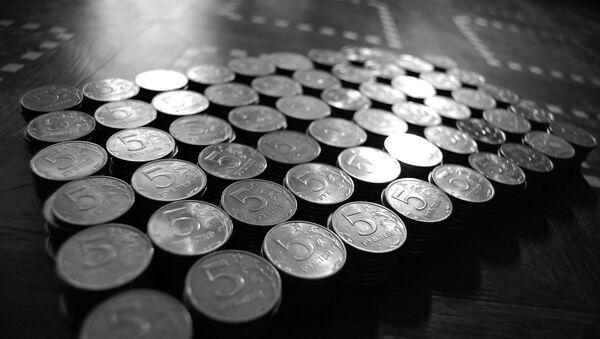 Monedas de 5 rublos - Sputnik Mundo