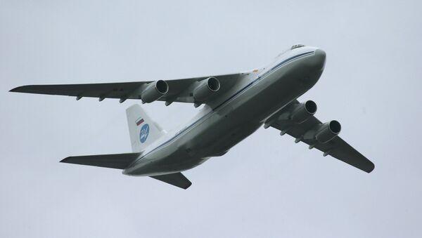 Antonov An-124 Condor/Ruslan strategic airlifter - Sputnik Mundo
