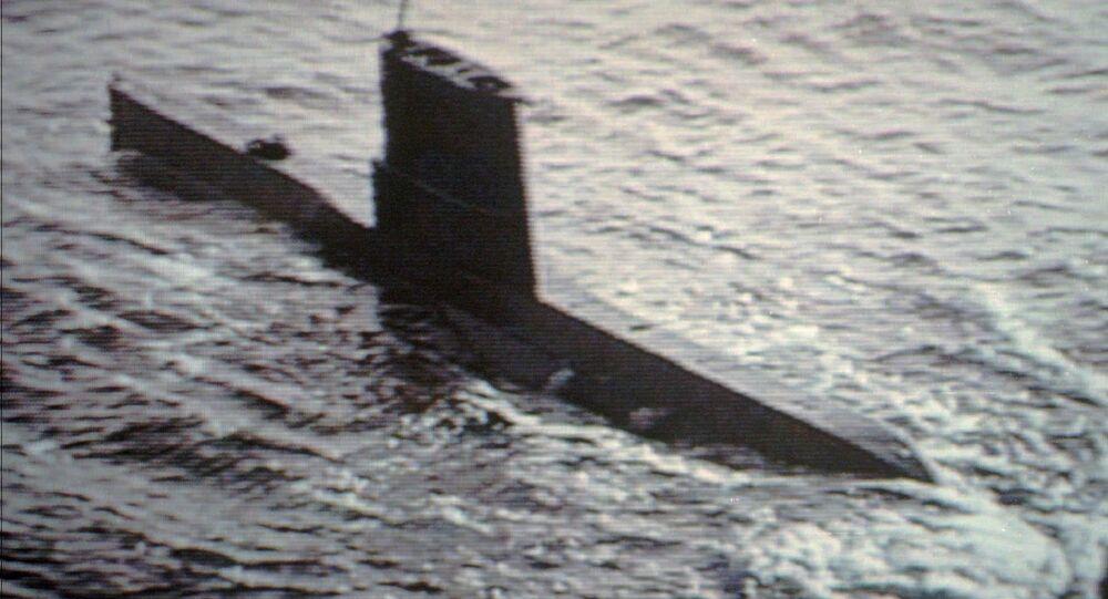 Submarino norcoreano (archivo)